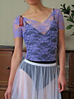 Pretty lady or girl ballet dance warm up lace top - New in Small to Medium size