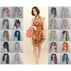 Scarf Fashion Hot Lady Womens Long Chiffon Wraps Shawl Stole Soft Scarves