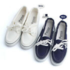 4ssd1104 boat canvas sneakers unisex made in korea