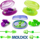 Reusable EARPLUGS MOLDEX ROCKETS, COMETS, TWISTERS TRIO Corded or Uncorded Plugs