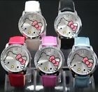 Fashion Lovely HelloKitty Girl Lady Women Quartz Wrist Watch 5 Colours selection