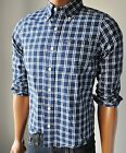 "NWT ABERCROMBIE & FITCH ANF MENS ""East River Trail"" Plaid Muscle Fit Shirt"