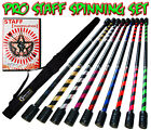 Flames N Games 140cm Pro Daytime Practice Staff Set - Fire Staff, Contact Staff