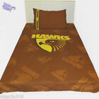 Hawks  - Quilt Cover - New Hawthorn Design - Avail Single, Double & Queen Bed -