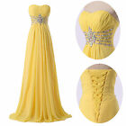 New Womens Prom Long Formal Dress Evening Party Gown Cocktail Bridesmaid Dresses