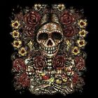 Day Of The Dead Día de Muertos Skull Work Shirt Dickies Button Up Garage