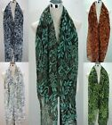 Stunning Long Loud Floral Flower Print Scarf Neck Scarf All Year AMAZING COLOURS