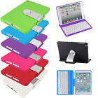 Cover Case w / Swivel Rotary Stand + Bluetooth Keyboard for iPad mini 1& Retina 2