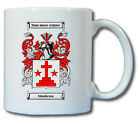 MANDERSON COAT OF ARMS COFFEE MUG