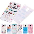 Multi Art Cartoon Series Pattern Hard Snap Back Case Cover For Samsung Galaxy S5