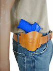 New Barsony Tan Leather Quick Slide Holster Smith&Wesson 380 Ultra Comp 9mm 40