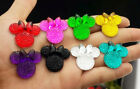 NEW 25*28 MIX Mickey's DIY Flat Back Resin Buttons Scrapbooking,crafts 8color