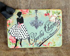 Hang Tags  FRENCH PARIS LADY FASHION TAGS or MAGNET #132  Gift Tags