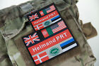 Brand New British Army Forces Helmand PRT Velcro backed patches ISAF OP Herrick