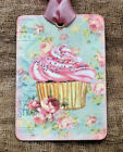 Hang Tags  FRENCH PARIS CUPCAKE SWEETS TAGS or MAGNET #101  Gift Tags