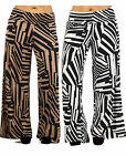 PALAZZO PANTS Abstract Wide Leg CLUBBING PLUS SIZE XL/1X/2X/3X 14/16/18/20