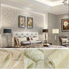 European retro Damascus embossed woven/Flocking 3D stereoscopic wallpaper 5.3㎡