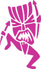 Tiki Man Vinyl Car Decals Window Stickers Vehicle Graphics Facing Left