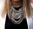 Fashion Women's Exaggerated Choker Chunky Chain Bib Statement Necklaces XL1466