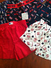 NWT NEW BOSTON RED SOX BOXERS UNDERWEAR RED BLUE WHITE LOGO BOYS M L 12 14 16 10