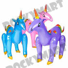 Unicorn Inflatable Inflate 24 Inches - Blow Up Fantasy Legendary Horse with Horn