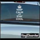 Keep Calm and Stay Cool Vinyl Wall Decal or Car Sticker-keepcalmandstaycoolEY