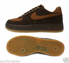 Nike Air Force 1 Mens Trainers Brown/Tan Size UK-7, 8, 8.5, 9, 10, 11 631412 200