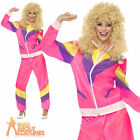 Adult 80's Height of Fashion Shell Suit Scouser Fancy Dress Costume Size 8-18