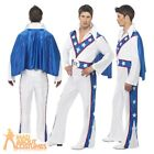 Evel Knievel Costume Stunt Daredevil Licensed Mens Fancy Dress Outfit Evil