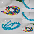 Wholesale New Fashion Round Fresh Beads Jewelry DIY Finding Charm Hot 6mm/8mm