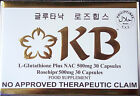 KB SOAP GLUTATHIONE CAPSULES Variety Skin Whitening Anti Oxidant Face And Body