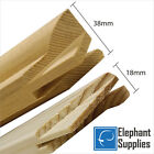 Canvas Stretcher Bars, Canvas Frames, Pine Wood 18mm & 38mm Thick - Sold By Pair <br/> Lowest Price in the UK! Buy Direct from Manufacturer
