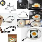 Kitchen Stainless Steel 5 Shaped Pancake FRBT Mold Cook Fried Egg Shaper