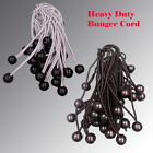 BUNGEE CORD BALL BUNGEES CANOPY  TIE DOWNS STRAPS HEAVY DUTY TARP ACCESSORY