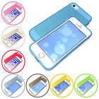 TRANSPARENT FROSTED TPU SILICONE RUBBER SKIN BUMPER CASE COVER FOR iPHONE 5 5S