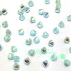 Mint Alabaster AB 2x (397 AB2X) Swarovski 5328 / 5301 4mm Crystal Bicone Beads