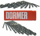 HSS JOBBER DRILL BITS FOR USE ON STEEL / METAL 0.2MM TO 1.0MM A100 DORMER BRAND
