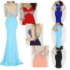 2014 Super Sexy Long Formal Evening Party Prom Cocktail Bridesmaid Bodycon Dress