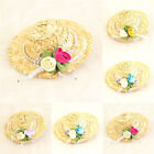 New Fashion Lady Mini Top Hat Cap Rose Hair Clip Accessory For Party Wedding Hot