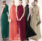 Traditional women maxi Evening Cocktail Party Dress Plus Size 12-14-16-18-20-22