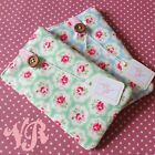Padded Case Cover Sleeve for iPhone 5 5s 5c 4 - Handmade in Cath Kidston Fabric