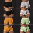 Clearance Men Sheer Pouch Smooth Sexy Underwear Briefs Shorts Underpants Boxers