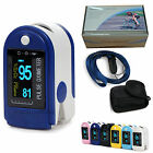 OLED CMS50d Fingertip Pulse Oximeter, SPO2 , Blood Oxygen Saturation 6 Colors