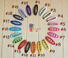 10/20pcs Ribbon Lined /Wrapped/Covered Snap Clip Hair clip50mm Baby Girl Toddler