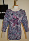 BETTY BARCLAY Mesh Lacy SWEATER JUMPER TOP Blue 6601/0409 Size 12 14 16 18 20