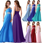 BIG SALE Wedding Chiffon Evening Bridesmaid Dress Prom Formal Party Long Gowns Q