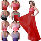 Womens New Long Evening Sexy Wedding Bridesmaid Formal Party Ball Gown Dresses