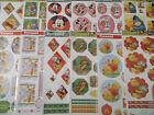 A4 Paper Die Cut Cardmaking Decoupage Sheet Disney Pyramid Various Designs