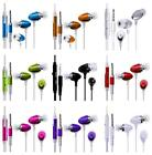 iEAR EARPHONES HEADSET HEADPHONE HANDS FREE EARPIECE MiC fOr Spice Mi-350