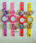 MY LITTLE PONY JIBBITZ BAND WATCH & 2 CHARMS,BRAND NEW